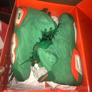 Men's Gatorade Retro 6's with original box